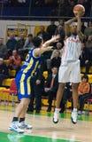 Donne 2009-2010 di EuroLeague. Fotografie Stock