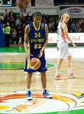 Donne 2009-2010 di EuroLeague. immagini stock libere da diritti