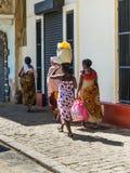 Donne africane nel Madagascar Fotografie Stock Libere da Diritti