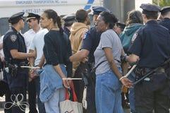 Donne arrestate Immagini Stock Libere da Diritti