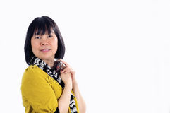 Donne asiatiche Fotografia Stock