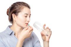 Donne asiatiche nella sanità Fotografia Stock