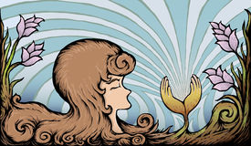 Donne astratte Fotografia Stock Libera da Diritti