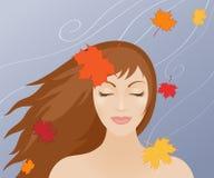 Donne in autunno Immagini Stock
