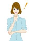 Donne ballonzolate dei capelli, ispirazione royalty illustrazione gratis