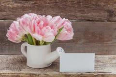 Donne \ 'cartolina d'auguri di marzo otto di giorno di s Fotografie Stock Libere da Diritti