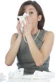 Donne con le allergie Immagini Stock