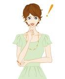 Donne dei capelli di scarsità, ispirazione royalty illustrazione gratis