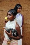 Donne dei tribeâs di Dongria Kondh in Orissa-India Fotografia Stock Libera da Diritti