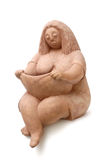Donne del grasso dell'argilla Immagini Stock Libere da Diritti