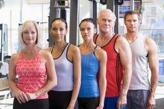 donne del ritratto degli uomini di ginnastica immagini stock libere da diritti