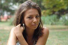 donne del ritratto giovani Fotografie Stock