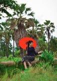 Donne del tempo di agricoltura di estate di libertà Immagine Stock Libera da Diritti