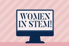 Donne del testo della scrittura in gambo Scienziato Research di matematica di ingegneria di tecnologia di scienza di significato  illustrazione vettoriale