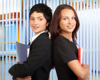 Donne di affari immagine stock libera da diritti