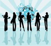 Donne di affari - illustrazione di vettore Fotografie Stock