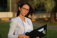 Donne di affari - immagine di riserva Immagini Stock