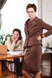 Donne di affari lavoranti Immagini Stock Libere da Diritti