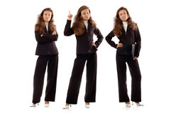 Donne di affari sicure Fotografia Stock