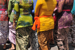 Donne di Balinese Immagine Stock