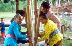 Donne di balinese Fotografie Stock