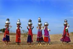 Donne di Banjara Fotografie Stock Libere da Diritti