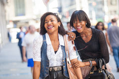 Donne di colore a New York Immagine Stock Libera da Diritti