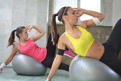Donne di forma fisica Fotografie Stock