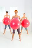 Donne di forma fisica Fotografia Stock