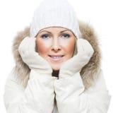 Donne di inverno Fotografia Stock Libera da Diritti
