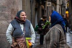 Donne di Roma Immagine Stock