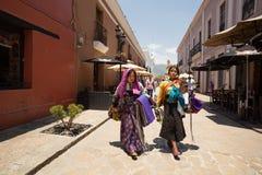 Donne di Tzotzil, gente indigena di maya Fotografia Stock Libera da Diritti
