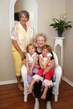 Donne e nipoti fotografia stock libera da diritti