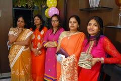 Donne indù Fotografia Stock Libera da Diritti