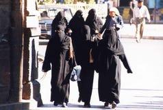 Donne islamiche Immagini Stock