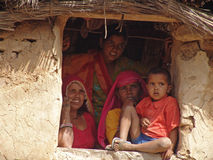 Donne a Jaipur, India Fotografia Stock