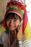 DONNE LONGNECK DELL'ASIA TAILANDIA CHIANG MAI Fotografia Stock Libera da Diritti