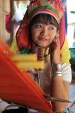 DONNE LONGNECK DELL'ASIA TAILANDIA CHIANG MAI Immagine Stock Libera da Diritti