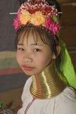 donne Lungo-con il collo della collina-tribù Fotografia Stock Libera da Diritti