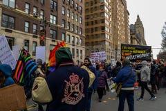 Donne marzo 2019 - New York fotografia stock libera da diritti