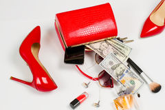 Donne messe di successo immagine stock libera da diritti