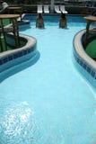 Donne nella piscina Fotografie Stock