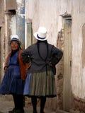 Donne peruviane Fotografia Stock