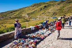 Donne peruviane Immagine Stock Libera da Diritti