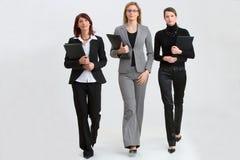 Donne sul lavoro Immagine Stock