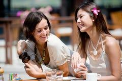 Donne sulla vacanza Fotografia Stock