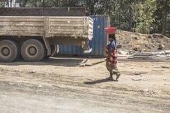 Donne in Tanzania Immagini Stock Libere da Diritti