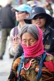 Donne tibetane anziane dal lahasa Fotografia Stock