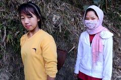 Donne tribali Immagini Stock Libere da Diritti