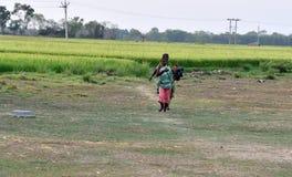 Donne tribali Fotografia Stock Libera da Diritti